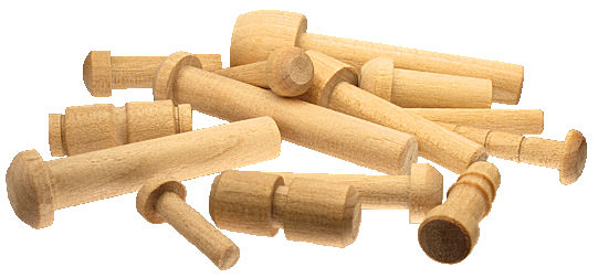 Custom_Made_Wooden_Toy_Axle_Pegs___assorted_plain.jpg, wood toy axle pins, large assortment of custom wood axles