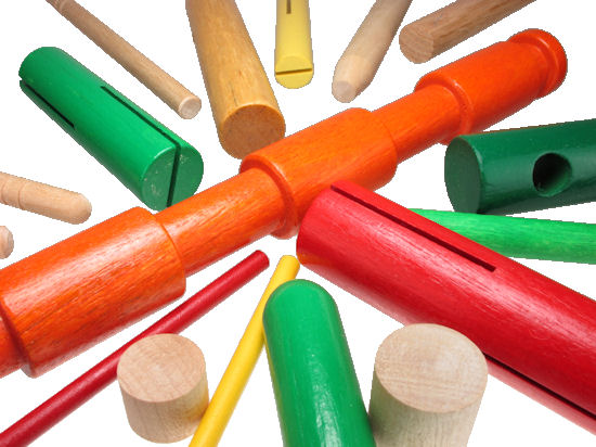Custom_Wooden_Dowels__assorted.jpg, wood dowel, custom-made wood dowel pieces, painted custom wooden dowels