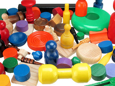 Wood_Toy_and_Game_parts___assorted.jpg, Custom Made Wooden Toy Parts, Custom Wood Game Pieces Made in USA, Turned Wood Toy Pawn, toy parts painted in USA