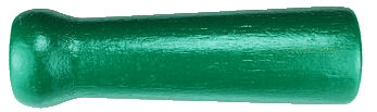 Wood_Jump_Rope_Handle___Green.jpg, wooden handle painted green,wood handle usa, wood turned handle