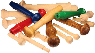Wooden_Peg_and_Wood_Shaker_Pegs.jpg, custom made wood wall peg, custom wood shaker peg, wood hanger peg painted, custom wooden turnings USA