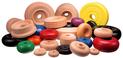 Maine Wood Concepts - Custom Wood Toy Wheels and Wooden Toy